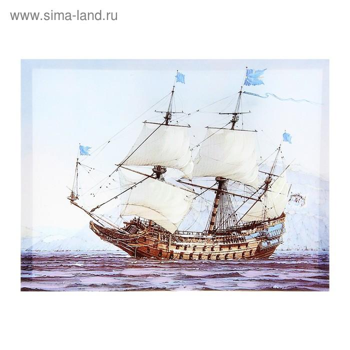 """Картина на холсте с подрамником """"Корабль"""""""