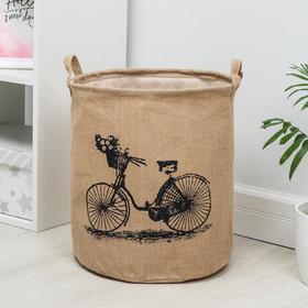 Корзина универсальная «Велосипед», 35×40 см