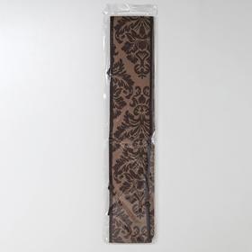 Органайзер для белья «Вензель», 18 ячеек, 35×30×12 см, цвет коричнево-бежевый - фото 4640742