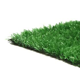 Газон искусственный, ворс 10 мм, 2 × 10 м, светло-зелёный