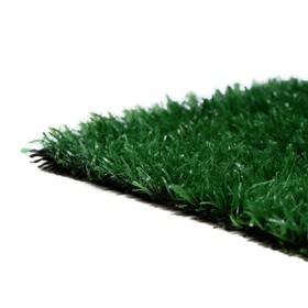 Газон искусственный, 2 × 10 м, ворс 10 мм, тёмно-зелёный