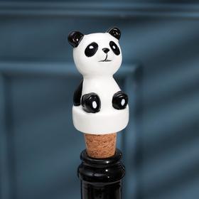 Пробка для бутылки Доляна «Панда», 5 см