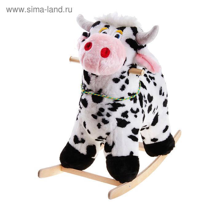 """Мягкая качалка """"Корова пятнистая"""""""