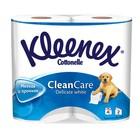 Туалетная бумага Kleenex Delicate White, 2 слоя, 4 рулона