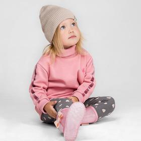 Свитшот для девочек, рост 86 см, цвет розовый