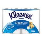 Туалетная бумага Kleenex, белая, 2 слоя, 12 шт.