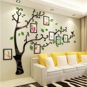 """Декор настенный с фоторамками """"Семейное дерево"""", 110х140 см"""
