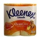 Туалетная бумага Kleenex, жёлтая, 2 слоя, 4 шт.