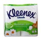 Туалетная бумага KLEENEX Нежная ромашка 3-сл 4 шт