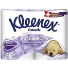 Туалетная бумага Kleenex Premium Comfort, 3 слоя, 4 шт.