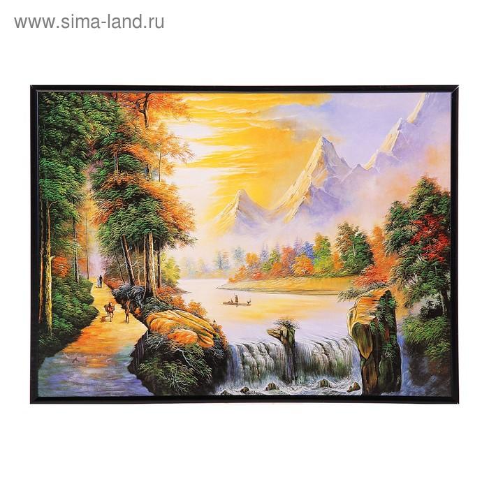 """Картина-постер """"Высокие горы"""""""