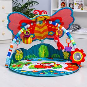 Развивающий коврик «Бабочка»