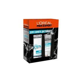 Набор L'Oreal Men expert: гель для бритья, 200 мл + крем после бритья, 75 мл