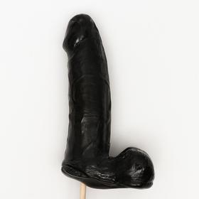 Леденец на палочке «Мистер XXL», чёрный, 17,5 см 390 г