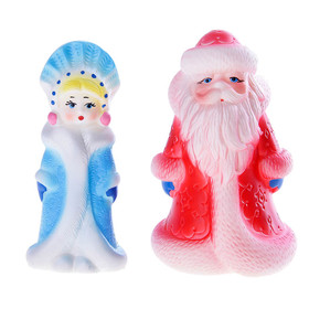 Набор резиновых игрушек «Рождество», МИКС