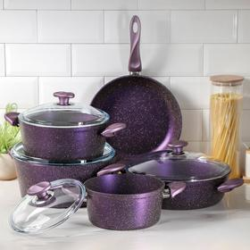 Набор посуды Papilla Wilma 5 предметов: кастрюля, d=20/24/28; сотейник d=28 см, сковорода d=28 см