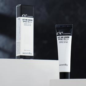 CC-cream for face Secret Key, sunscreen brightening, 30 g.