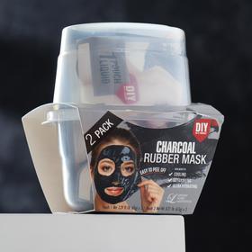 Альгинатная маска Lindsay с древесным углём: пудра + активатор