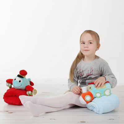 """Детские колготки со стразами """"Ромбы"""", S/1-4 г. 66-86 см, 88% полиамид, 12% эластан"""