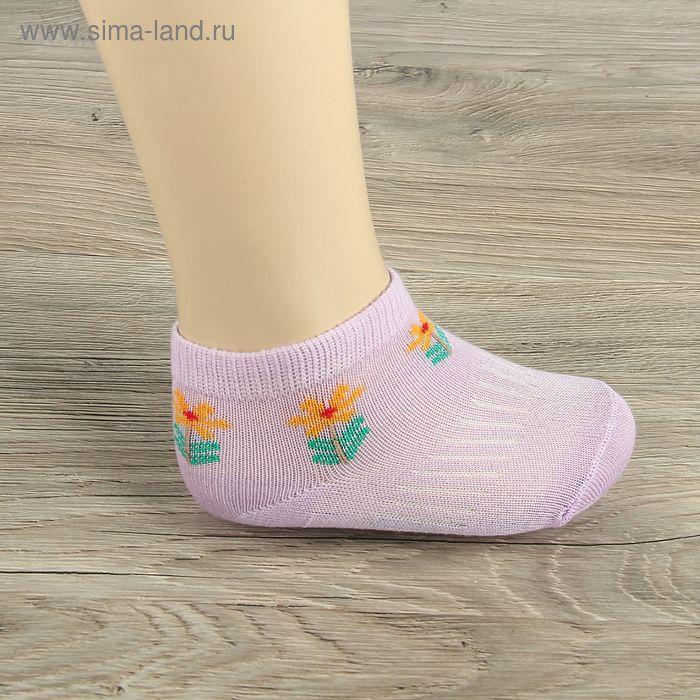 Носки детские Collorista Цветок, S/0-1 г., цвет микс