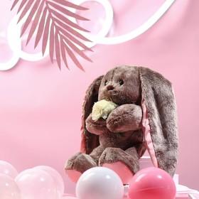 Мягкая игрушка «Li с белыми цветами»