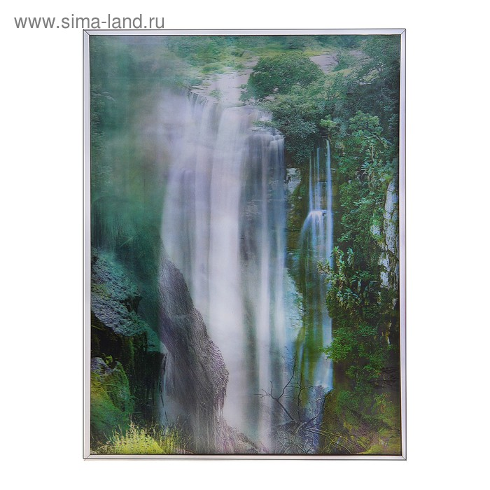 "Картина объёмная 3D ""Водопад"""