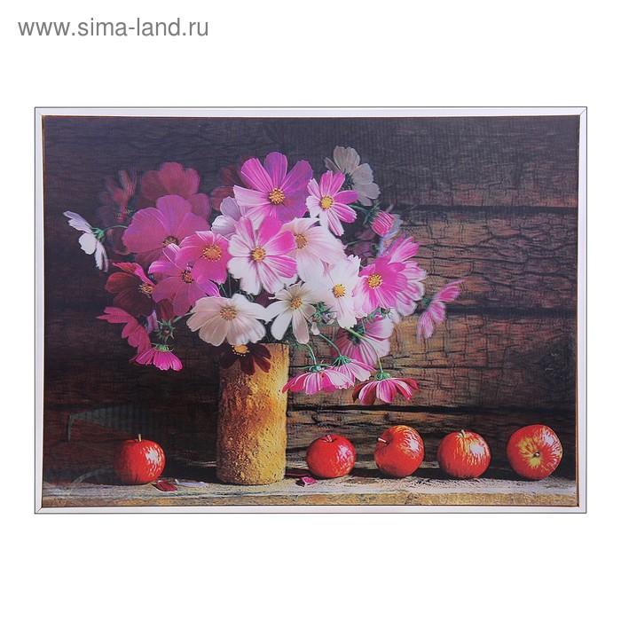 """Картина объёмная 3D """"Натюрморт с яблоками"""""""