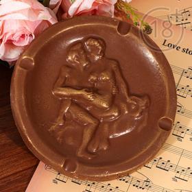 Шоколад фигурный «Тарелка эротическая» молочный, 170 г