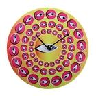 """Часы настенные, серия: Интерьер, """"Гипноз, глаза"""", d=40 см"""