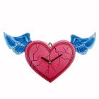 """Часы настенные, серия: Люди, """"Сердце с крыльями"""", 20.7х37.7 см"""