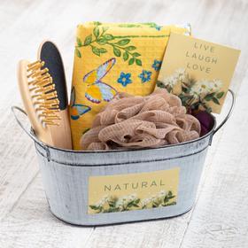 """Набор подарочный """"Enjoy life"""" с полотенцем (5 предметов)"""