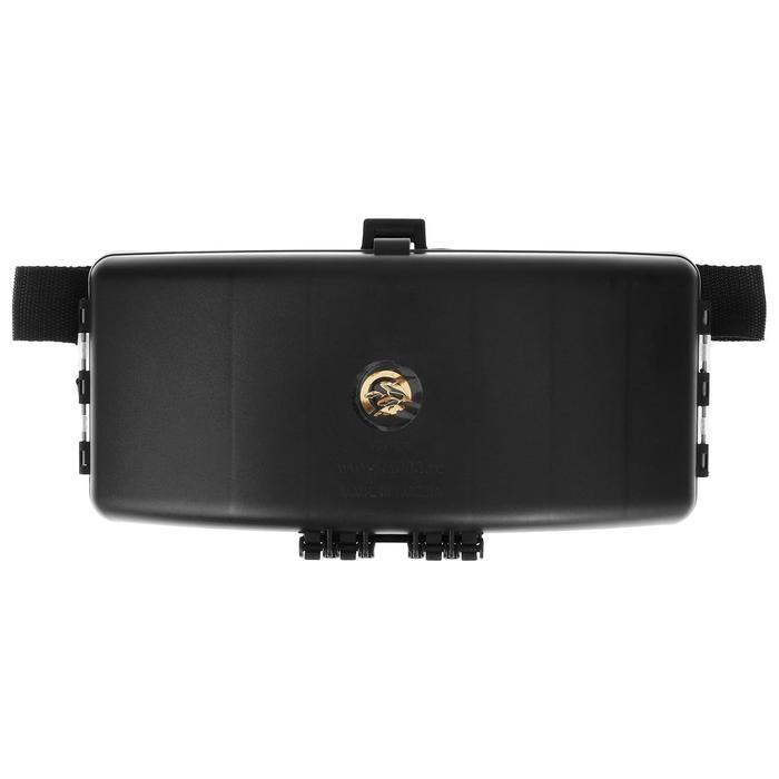 Коробка спиннингиста на пояс КС-1, 330 × 170 × 40, цвет чёрный - фото 282125924