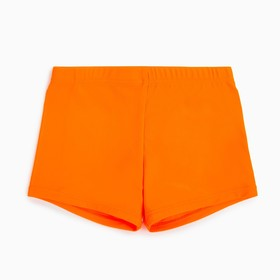 Bathing boxers for boy MINAKU monophonic orange colors, height 98-104 (4)