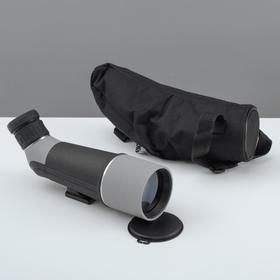 Телескоп настольный 20 кратного увеличения, серо-черный корпус