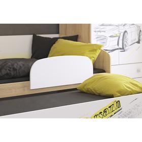 Бортик для кровати 795х37х290 белый