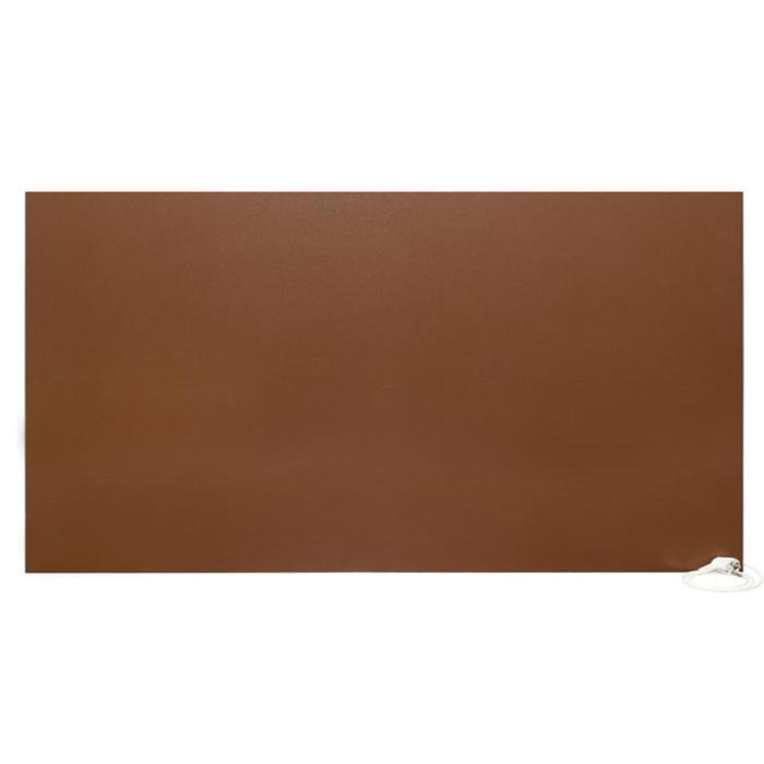 Обогреватель Nikapanels 650, инфракрасный, 800 Вт, 12-24 м2, матовый шоколад