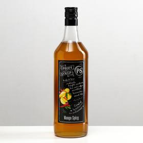 Сироп ProffSyrup со вкусом пряного манго, 1 л