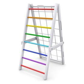 Детский спортивный комплекс Компакт складной, цвет белый-радуга