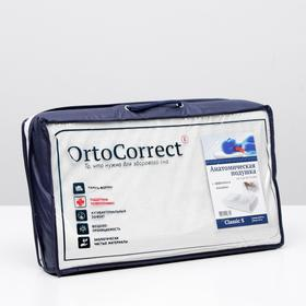 Anatomical pillow OrtoCorrect Classic S from 3 to 10 years old. 49h29, rollers 7/9