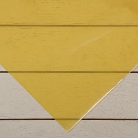 Плёнка полиэтиленовая, толщина 200 мкм, 3 × 10 м, рукав (1,5 м × 2), жёлтая, 1 сорт, ГОСТ 10354-82, «Тепличная»