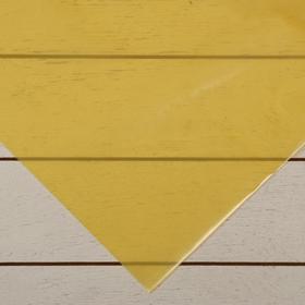 Плёнка полиэтиленовая, толщина 200 мкм, 3 × 5 м, рукав (1,5 м × 2), жёлтая, 1 сорт, ГОСТ 10354-82, «Тепличная»