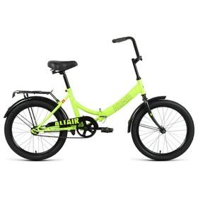 """Велосипед 20"""" Altair City,  2021, цвет ярко-зеленый/черный, размер 14"""""""