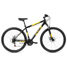 """Велосипед 29"""" Altair AL D, 2021, цвет черный/оранжевый, размер 21"""""""
