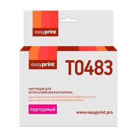 Картридж EasyPrint IE-T0483 (C13T04834010/T0483/ R200/R300/RX500/RX600) Epson, пурпурный Ош