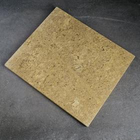Volcanic baking stone, 34x40x2cm.