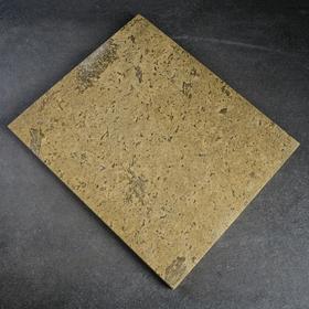 Пекарский камень вулканический, 32х38х2см