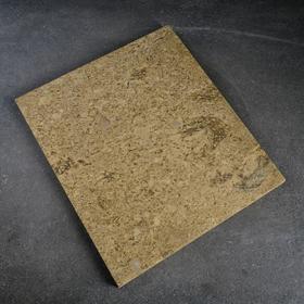 Volcanic baking stone, 30x34x2cm.