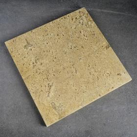 Volcanic baking stone, 32x32x2cm.