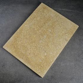 Volcanic baking stone, 30x40x2cm.