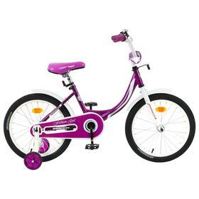 "Велосипед 18"" Graffiti Fashion Girl, цвет бордовый"